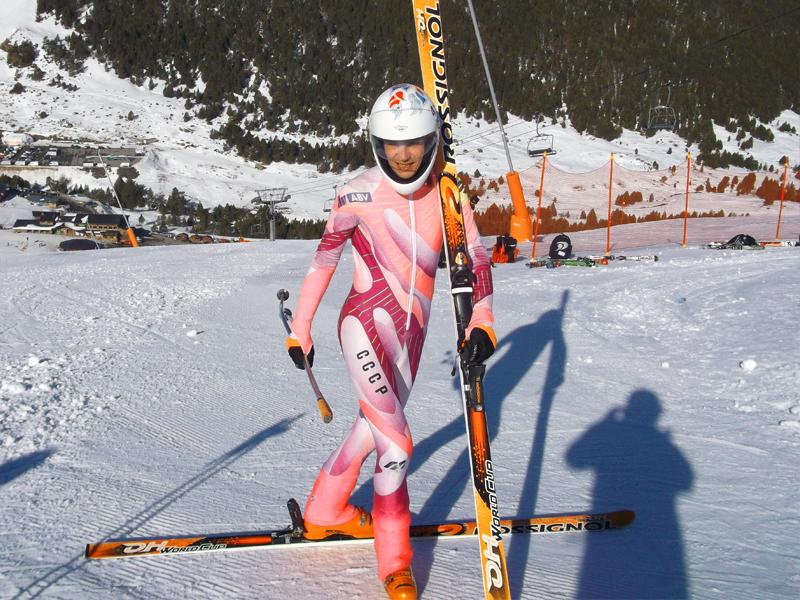 Д.Громов - несколько секунд назад назад поднята личная планка - пройден результат в 130 км/ч.