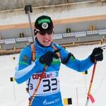 Кубок мира по биатлону-2013: юниор Александр Логинов