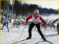 красногорск лыжная трасса