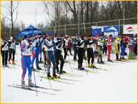 Лыжная трасса в Ромашково