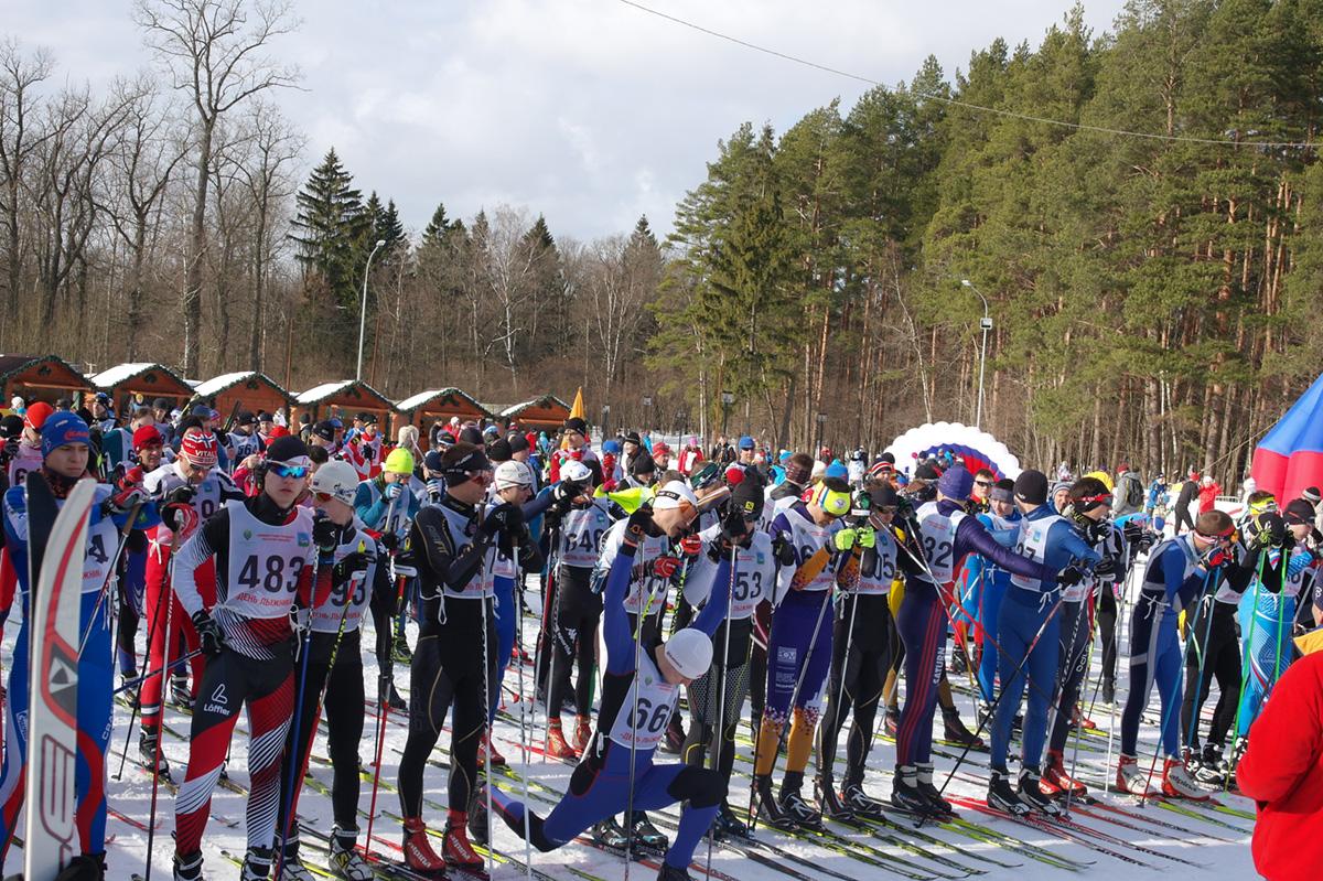 День лыжника в Одинцово