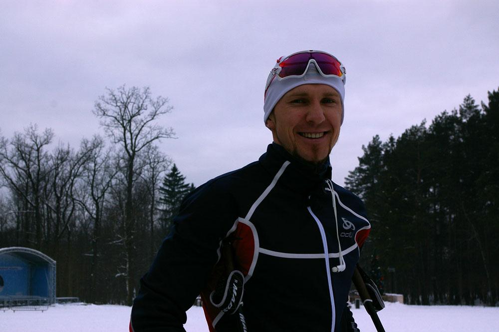 российский биатлонист Тимофей Лапшин